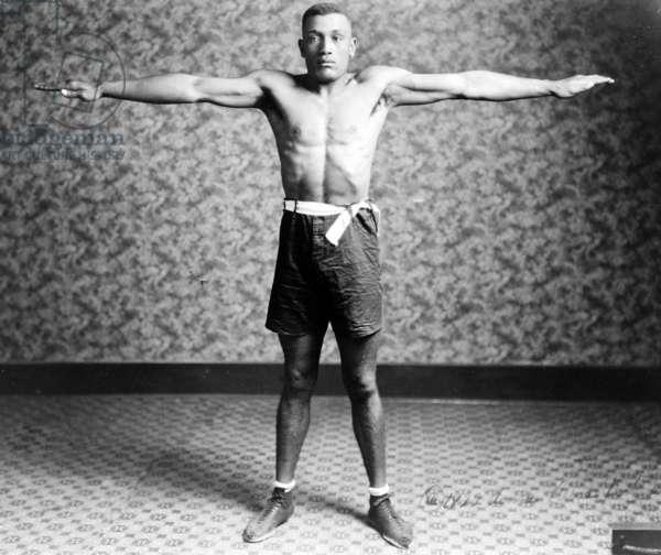 Boxing. Boxer Tut Jackson, c. 1922