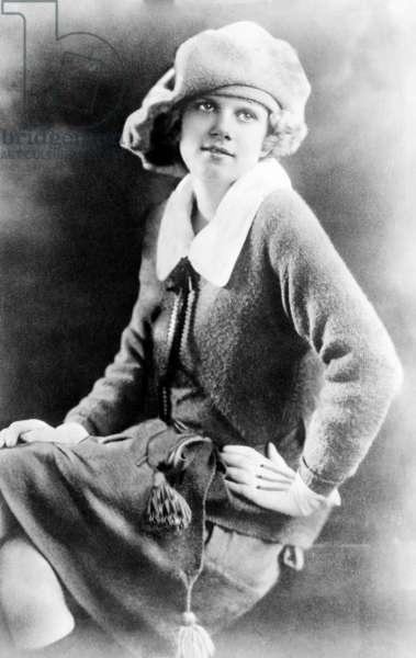 Jean Harlow at age 10, 1921