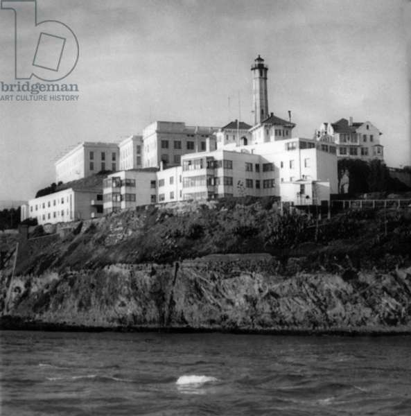 Alcatraz Island, 1955.