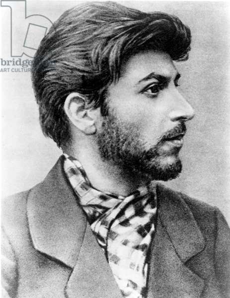 Joseph Stalin as a young revolutionary in 1900