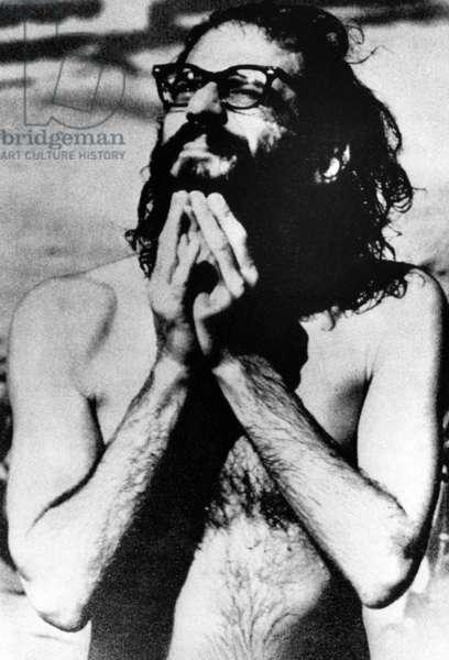 Beat Poet Allen Ginsberg, age 40, c.1966