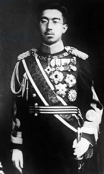 EMPEROR HIROHITO, of Japan, portrait c.1920s