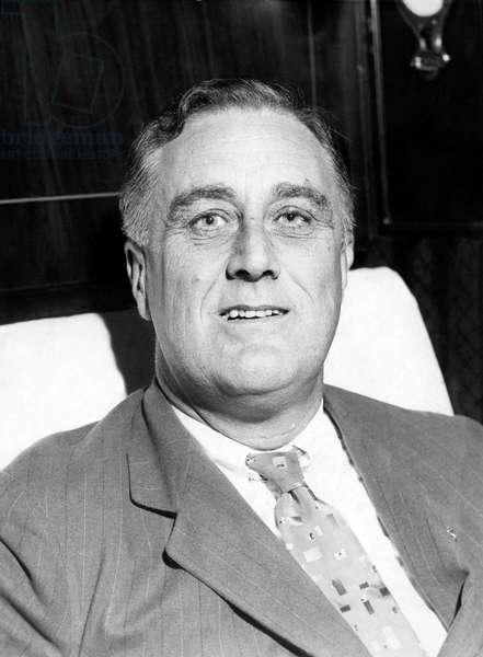 Future President Governor Franklin D. Roosevelt (1882-1945), U.S. President 1933-1945, November 20, 1931