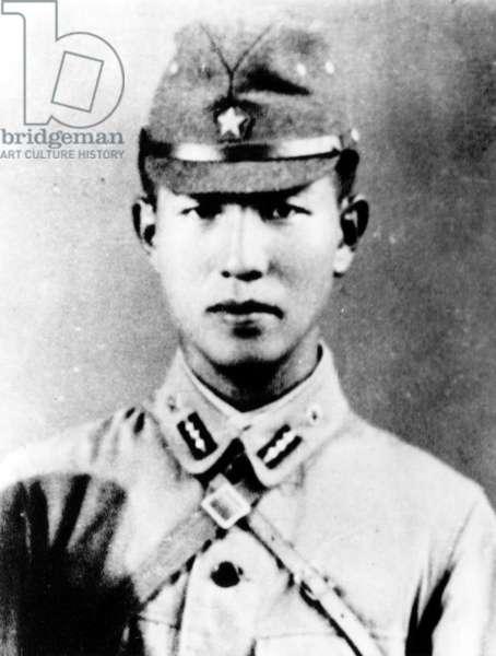 Lt. Hiroo Onoda, Japanese World War II soldier, 1940s