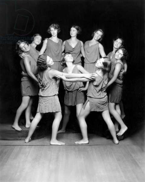 Isadora Duncan Dancers, c. 1929