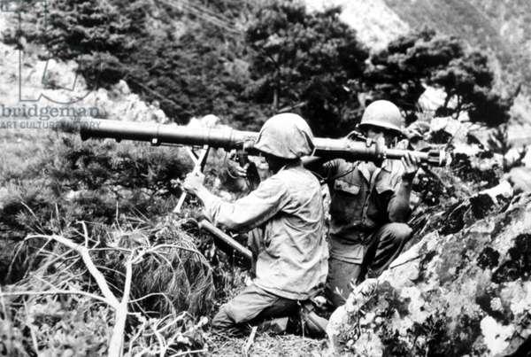 Korean War: U.S. Troops, Korea, 1950.