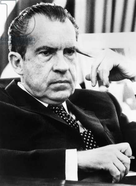 Nixon Presidency. US President Richard Nixon, c.1970s