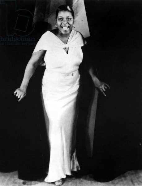 Bessie Smith, blues singer, portrait