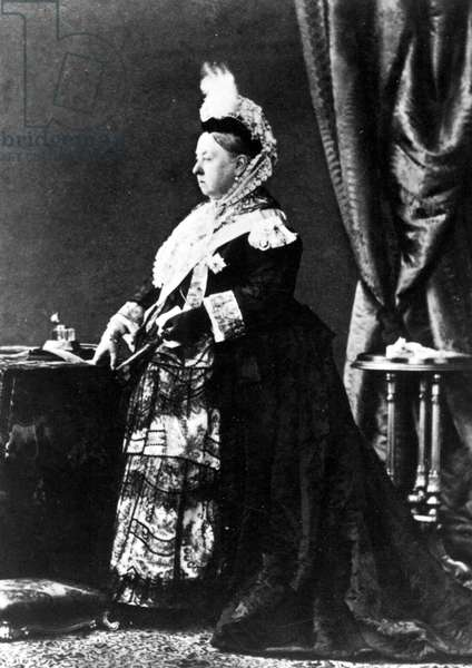 Queen Victoria, undated
