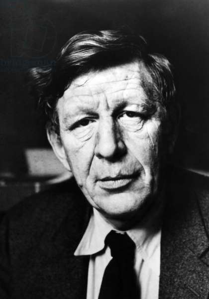 W.H. Auden, winner of the National Medal of Literature, 1967