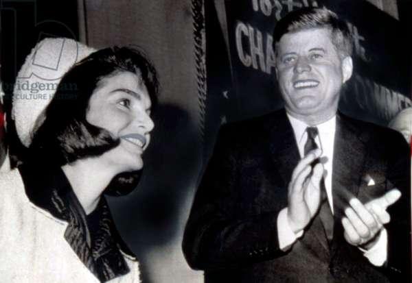 Pres. John F. Kennedy and Mrs. Kennedy in Dallas, 11/22/1963