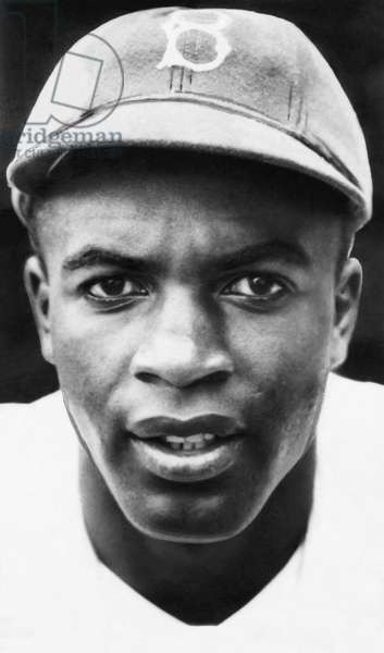 Jackie Robinson, Brooklyn Dodgers, 1947