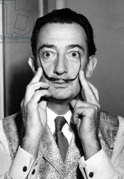 Salvador Dali, portrait c. 1953