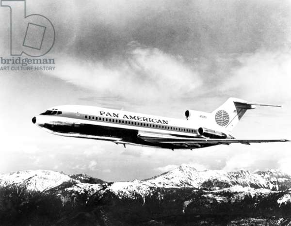 Pan American Airways, (Boeing 727), c. mid-1960s