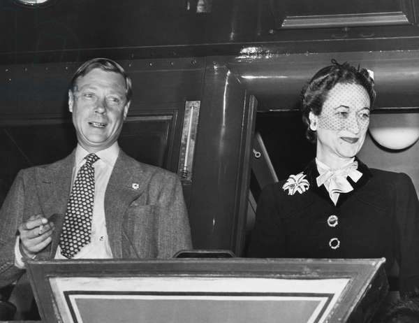 Prince Edward, Duke of Windsor and Duchess of Windsor Wallis Simpson, c.early 1940s