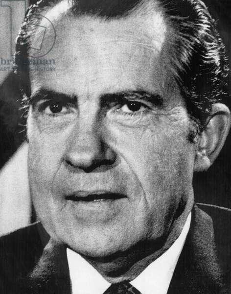 1971 US Presidency. President Richard Nixon, 1971