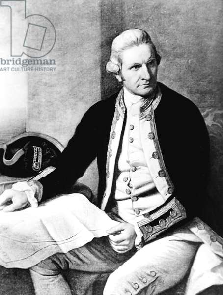 Captain James Cook, 1728-79