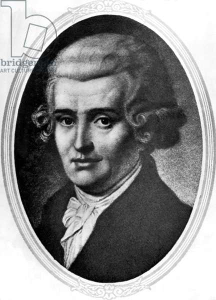 Classical composer Franz Josef Hayden. 1732-1809.