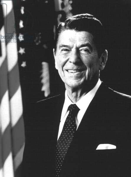 President Ronald Reagan, 1981