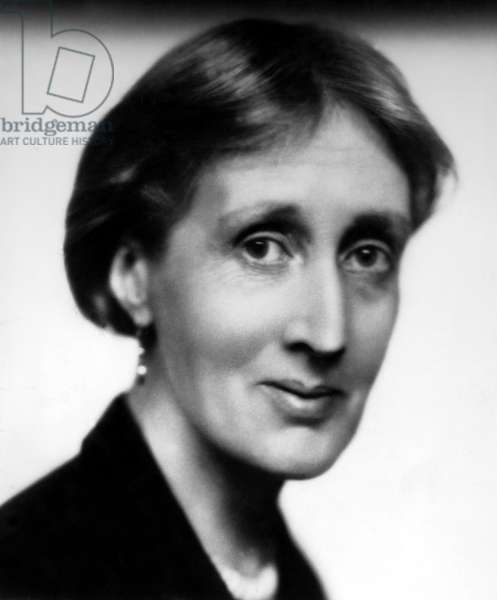 Virginia Woolf, British author, 1934