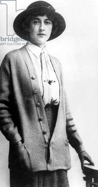 AGATHA CHRISTIE, c.1912