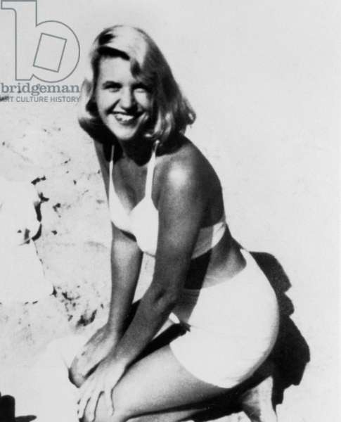 SYLVIA PLATH, c. 1954 after her nervous breakdown