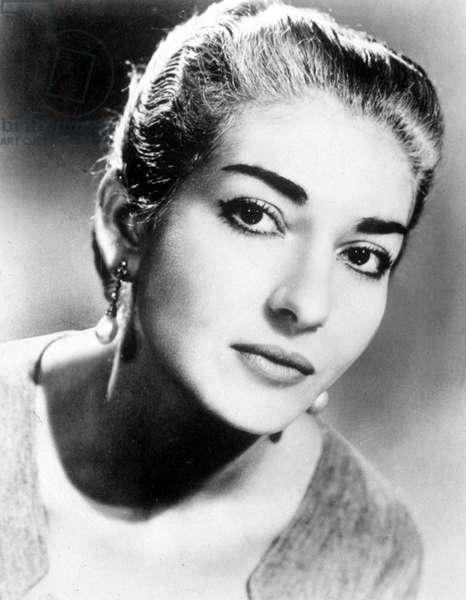 Maria Callas, c.1958
