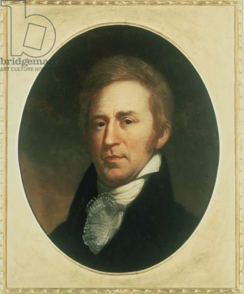 William Clark 1770-1838 . Portrait by Charles Wilson Peale
