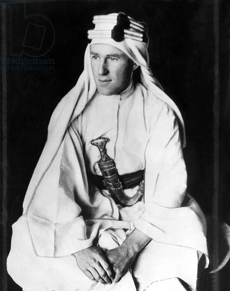 T.E. LAWRENCE [aka Lawrence of Arabia], 1931