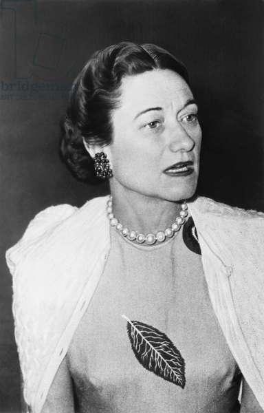 Duchess of Windsor Wallis Simpson, c.late 1950s