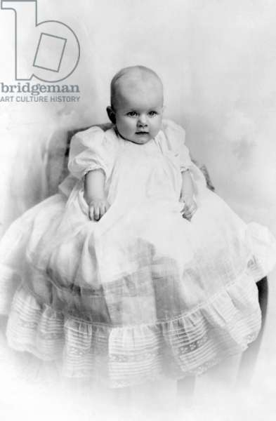 Jean Harlow at the age of 8 months, 1911