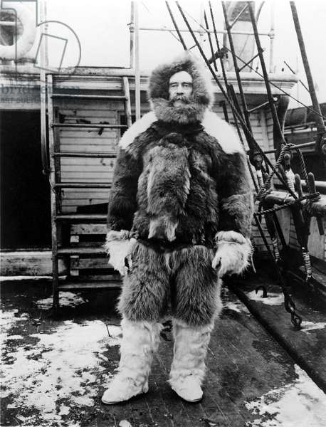 ROBERT E. PEARY-Commanter of the expedition to the North Pole, (1902-1905).