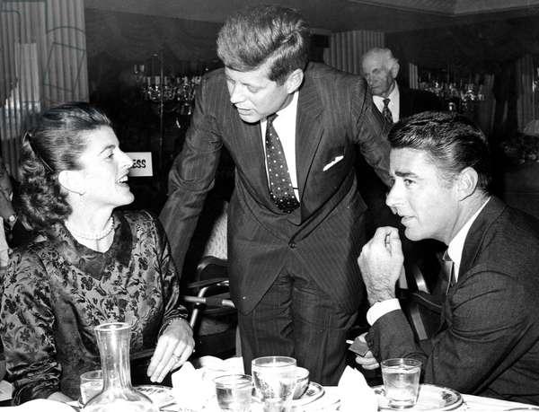 Patricia Kennedy Lawford, John F. Kennedy, Peter Lawford, 1959