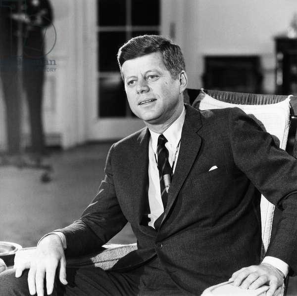President John F. Kennedy, c. 1960-63