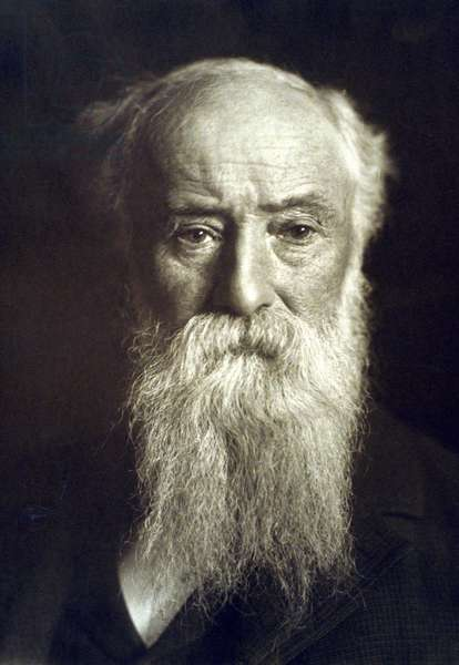 John Burroughs (1837-1921) wrote on nature subjects and inspired the early conservation movement