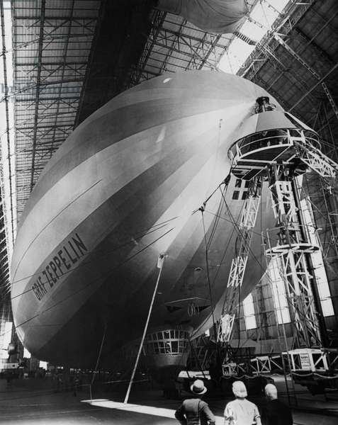 The LZ 129 Graf Zeppelin, c.1930s