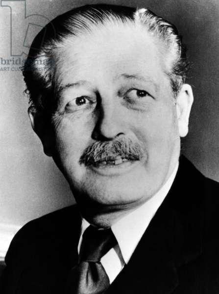Harold MacMillan, (1894-1986), British Prime Minister 1957-1963, c. 1957.
