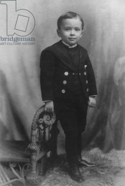J. Edgar Hoover at age 4, in 1899. The future FBI director was born in 1895 in Washington, D.C.
