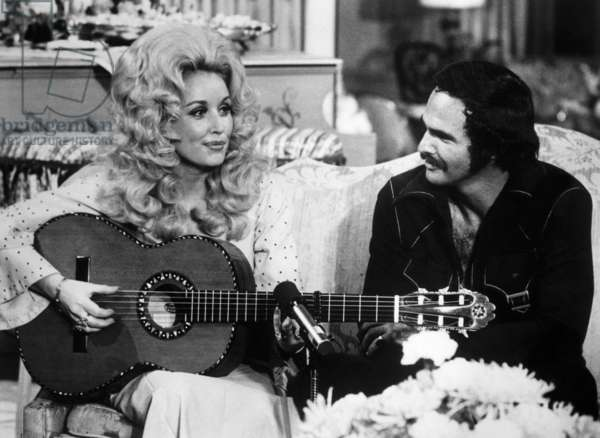 Dolly Parton and Burt Reynolds, 1974