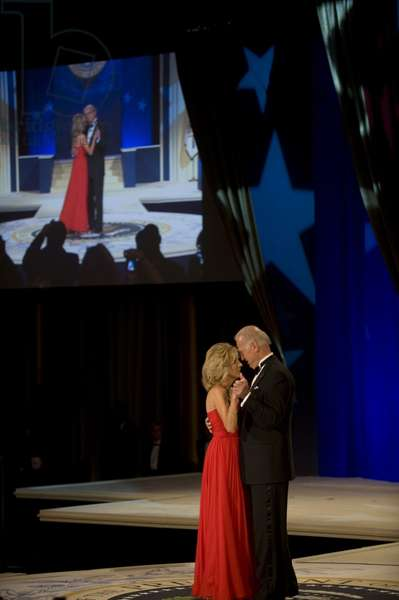 Vice President Joe Biden and Dr. Jill Biden dance during the Commander in Chief's Ball. Jan. 20 2009. (BSWH_2011_8_201)