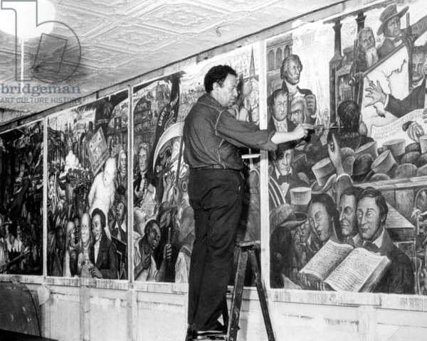 DIEGO RIVERA, 1939.