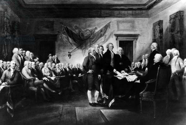John Trumbull's 'Declaration of Independence,' commissioned in 1817
