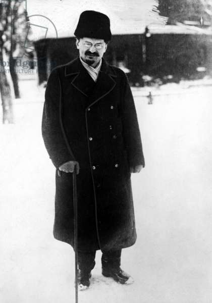 Leon Trotsky, 1929.