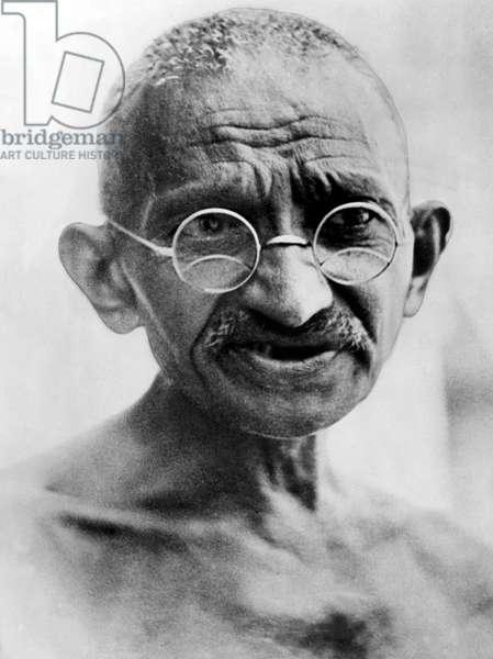 Mahatma Gandhi in 1931