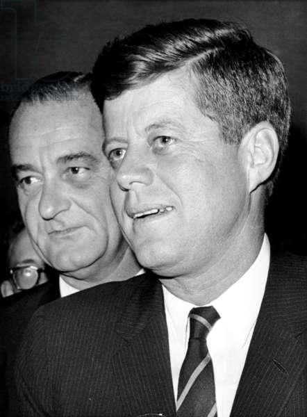 John F. Kennedy and Lyndon B. Johnson, Dec. 6, 1961