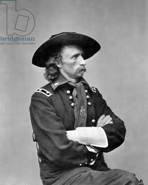 George Armstrong Custer, U.S. Army major general, c. 1863