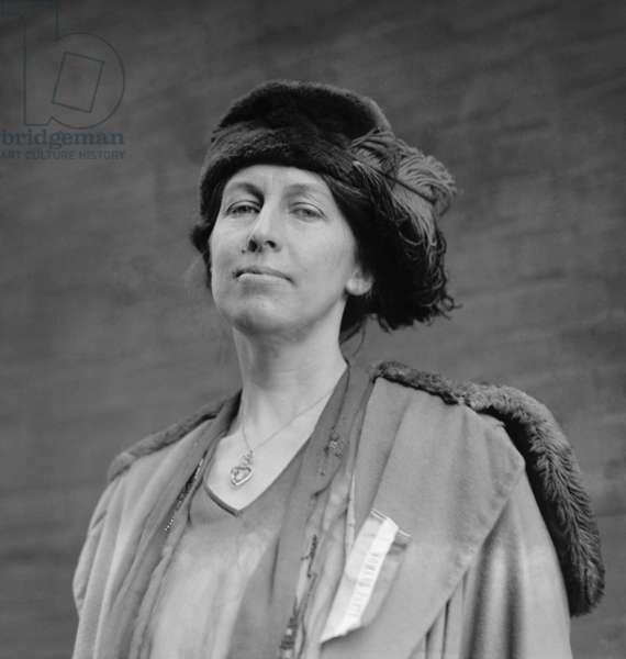 Nora Stanton Blatch (1883-1971), was the daughter of Harriot Stanton Blatch and the granddaughter of leading Women's suffrage leader, Elizabeth Cady Stanton