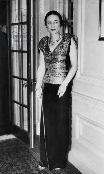 Future Duchess of Windsor Wallis Simpson, c.mid-1930s