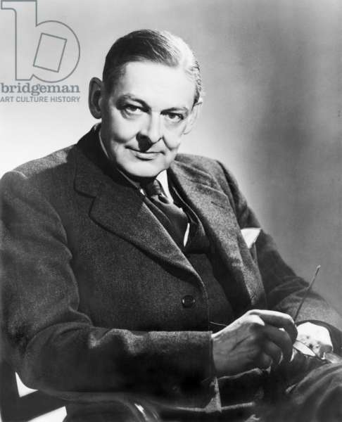 T.S. Eliot (1888-1965) American born English poet, won the 1948 Nobel Prize for Literature. 1954