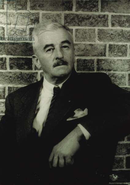 William Faulkner, portrait by Carl Van Vechten, December 11, 1954